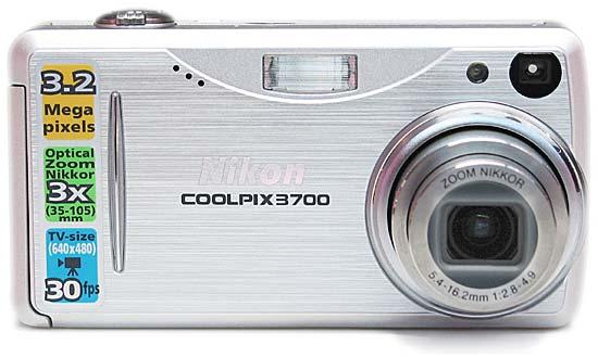 Nikon Coolpix 3700 (Nikon 3700)