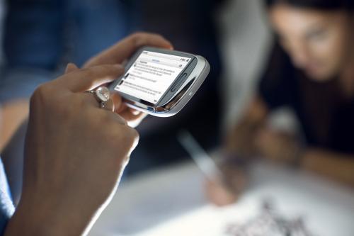 Широкие возможности мобильного телефона