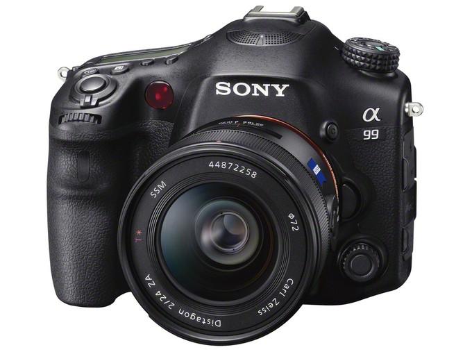 "Полнокадровая ""зеркалка"" Sony alpha slt - A99"