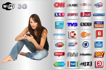Pocket Live TV: более 100 телеканалов на Pocket PC