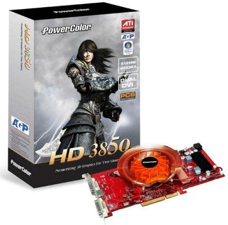 PowerColor выпускает AGP-версию Radeon HD 3850