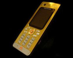 Золотой SonyEricsson W880i от Amosu