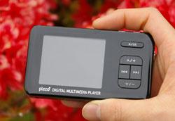 Plezo PM220 – медиаплеер с сенсором ускорения