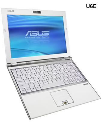 ASUS U6S и U6E: компактные, стильные и функциональные ноутбуки