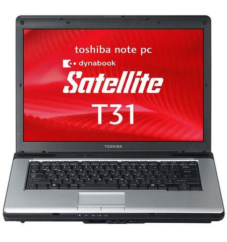 Toshiba Dynabook Satellite T31 с ОС Vista или Windows XP на выбор