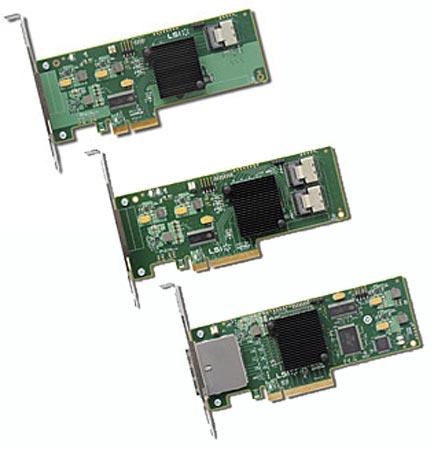 У LSI готовы адаптеры SATA+SAS с поддержкой скорости 6 Гбит/с