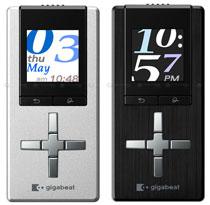Toshiba Gigabeat U – обновлённая линейка компактных MP3-плееров