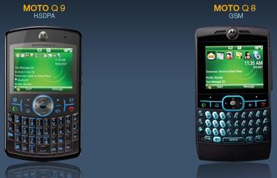 GSM и HSDPA версии смартфона MOTO Q переименованы