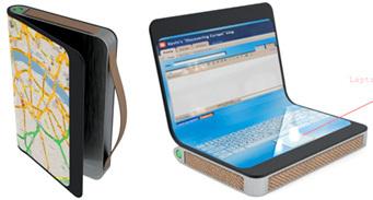Концепт GPS-навигатора с дисплеем из электронной бумаги