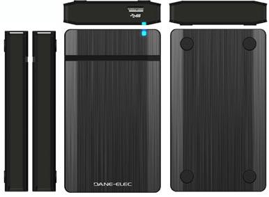 Dane-Elec обещает выпустить девять внешних накопителей с интерфейсом USB 3.0