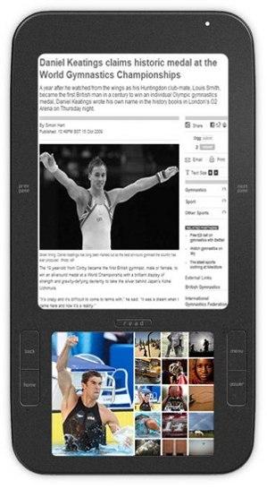 Alex – первая электронная книга на Android с двумя экранами