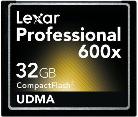 Карты памяти Lexar Professional 600x CompactFlash ориентированы на профессиональных фотографов