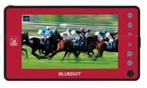 BlueDot BTV-400 – тонкий цифровой телеприёмник с 4-дюймовым дисплеем