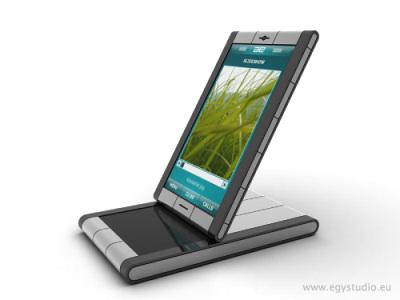 BYB Balance: концепт смартфона-люкс от автора ASUS Aura