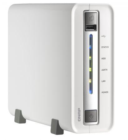 QNAP выпустила однодисковую версию сетевого хранилища данных TS-110 Turbo NAS