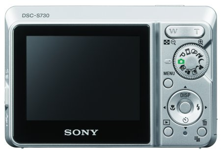 Sony: бюджетная фотокамера Cyber-shot S730