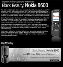 Начался приём предзаказов на Nokia 8600